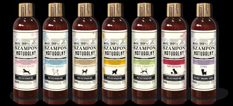 szampony naturalne dla psów