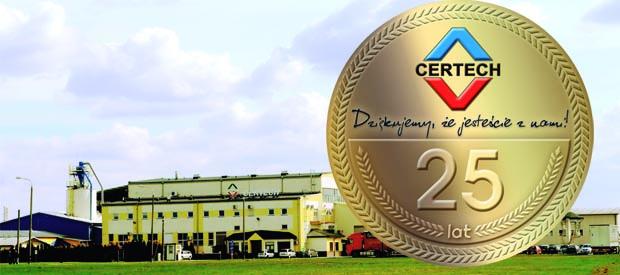 Certech świętuje 25 lat
